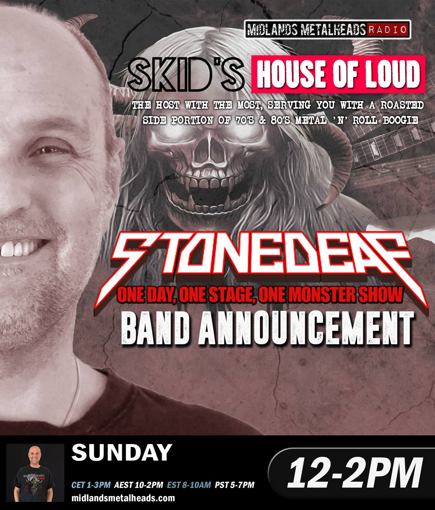 8 Pst To Aest skid's house of loud 25.11.18