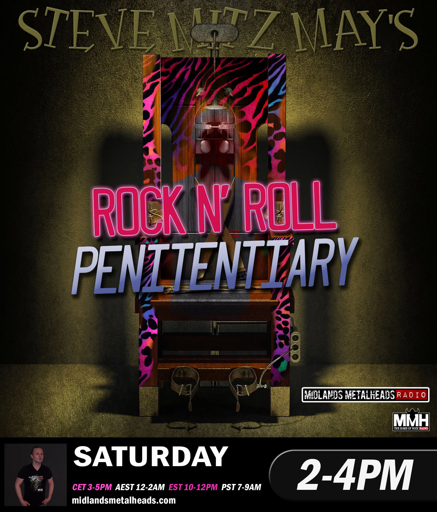 4Pm Cet To Pst the rock n roll penitentiary - dj mitz 27.07.19