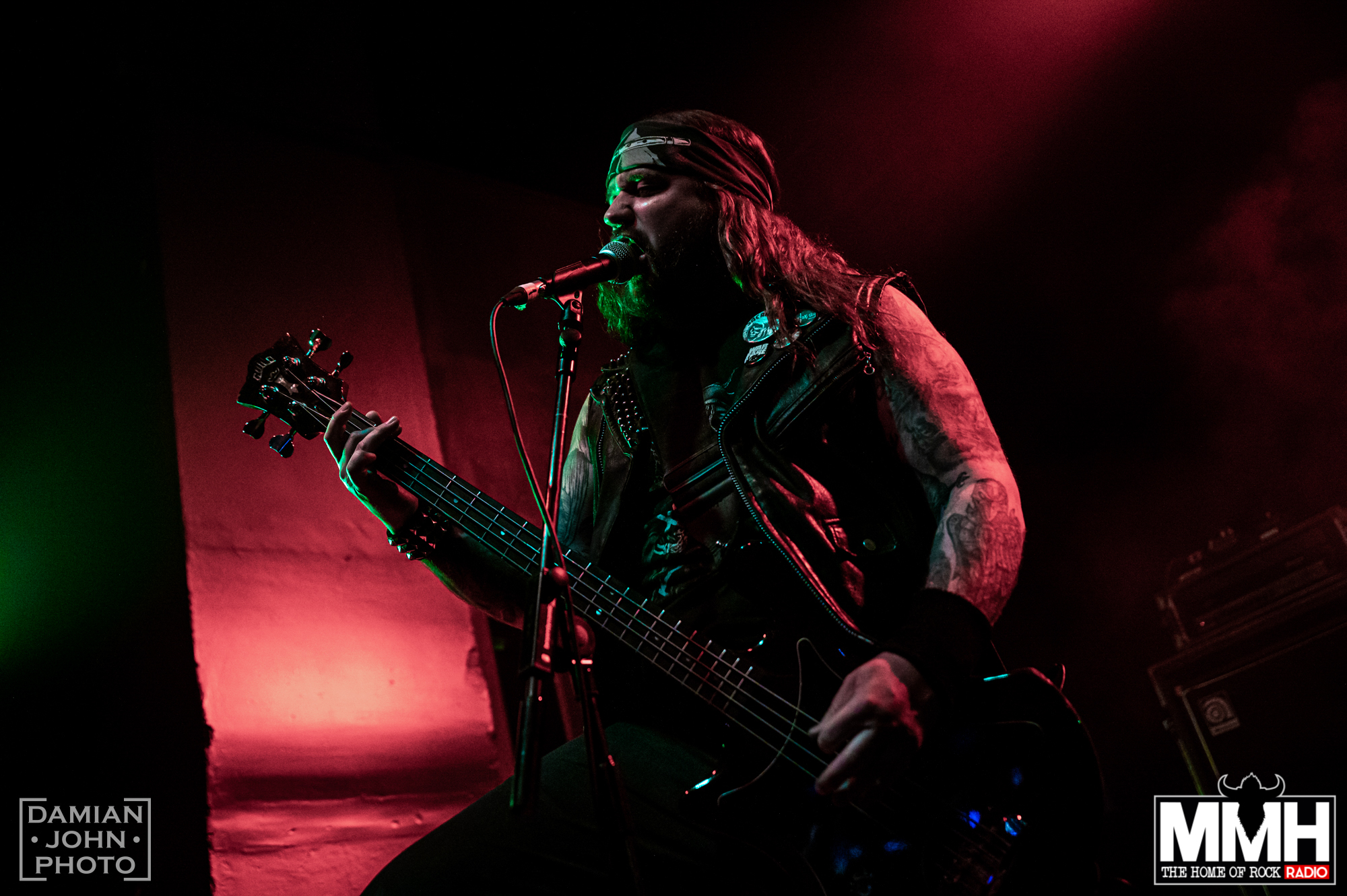 american heavy metal band bat performing at the O2 Institute birmingham