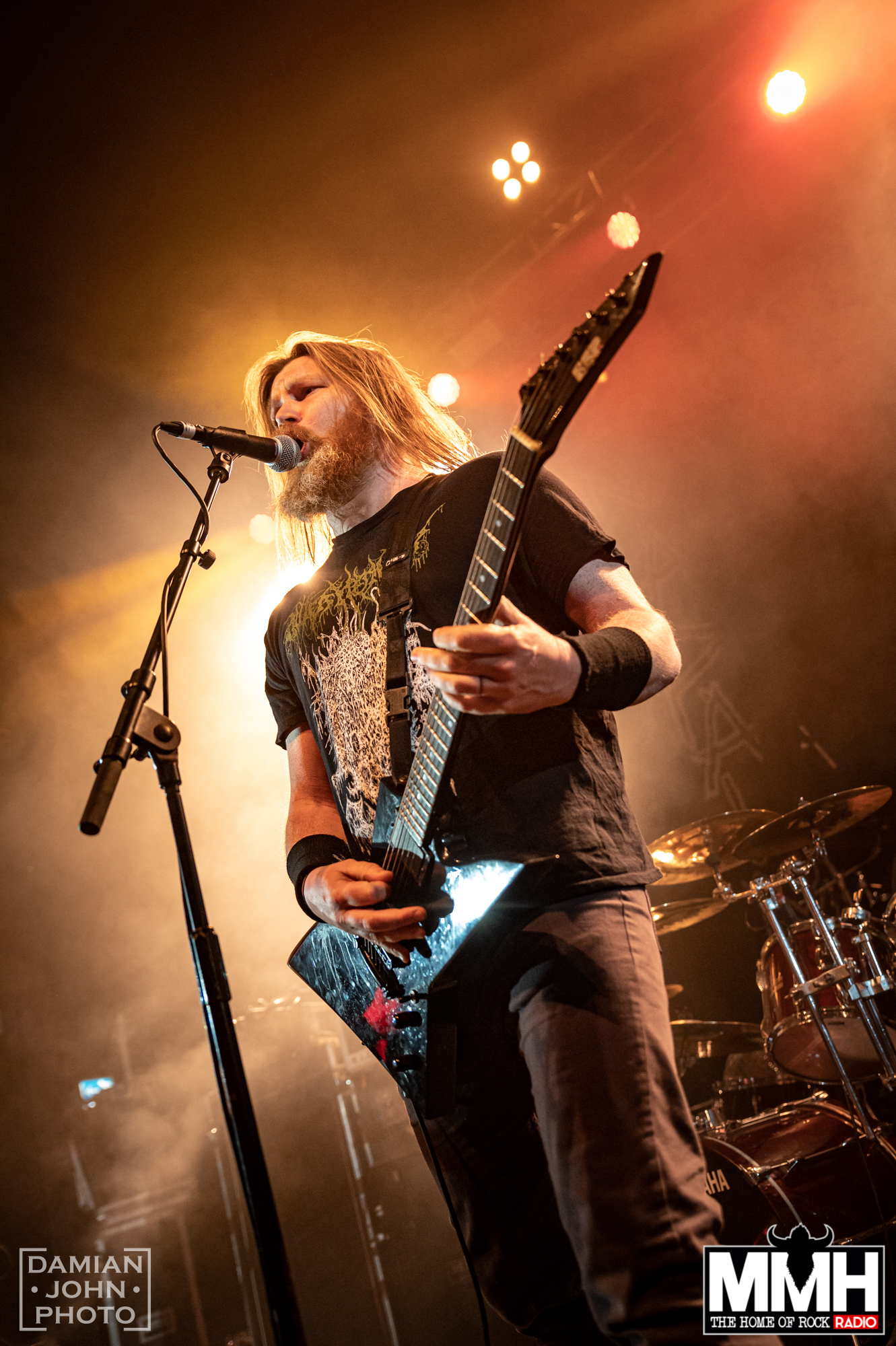 american death metal band misery index performing at the O2 Institute birmingham
