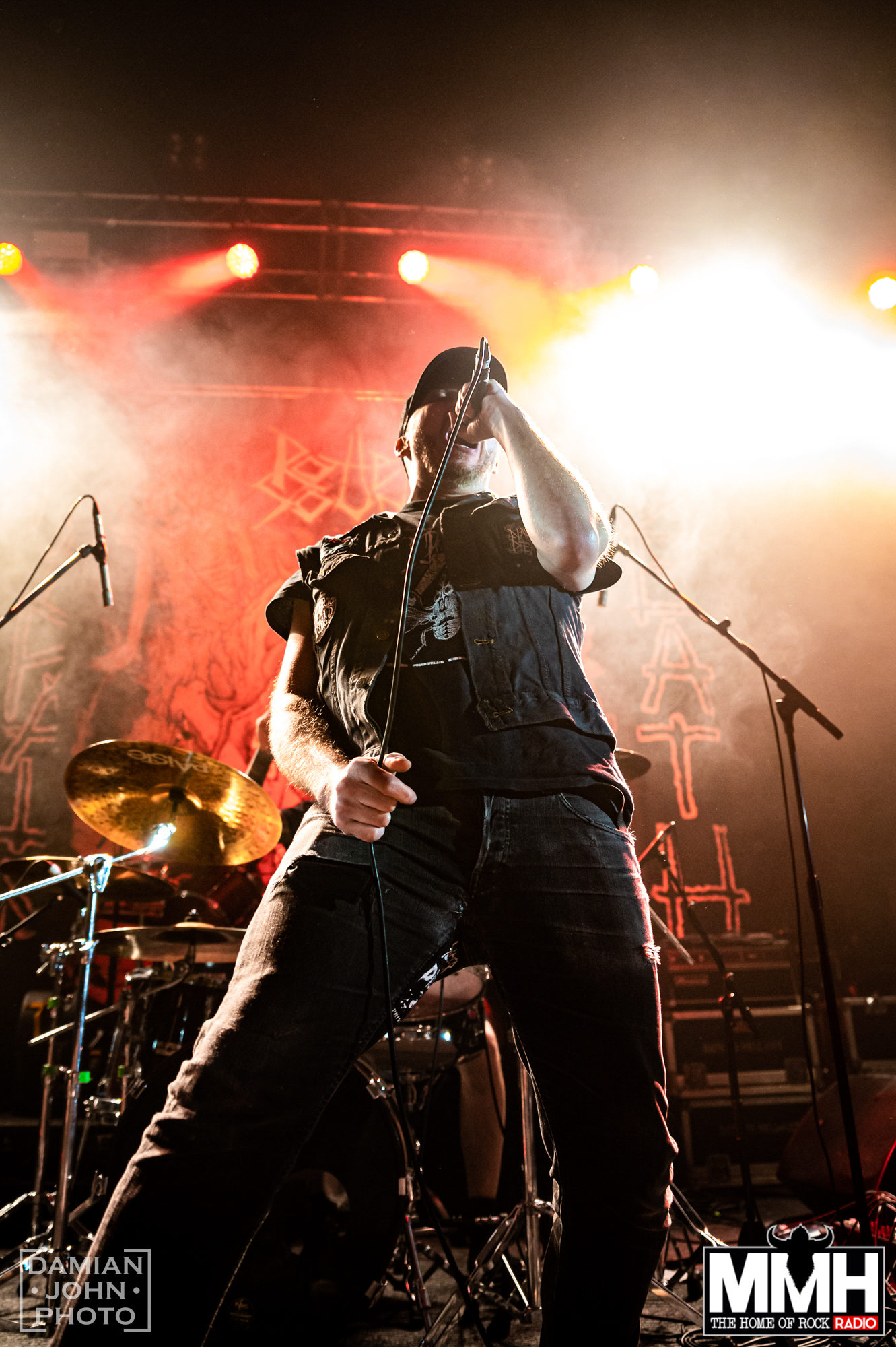 finnish death metal band rotten sound performing at the O2 Institute birmingham